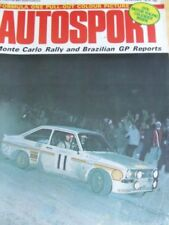 Autosport Monthly Cars, 1970s Magazines