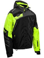 Castle X Mens Code Black/Charcoal/Hi-Vis Jacket Snowmobile Jacket