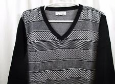 af86d0eeeab Kim Rogers Plus Size 3x Geo Jacquard V-neck Top sweater