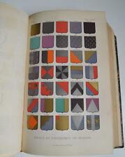 1877 Dictionnaire d' Architecture t1 E. Bosc sciences et arts reliure cuir