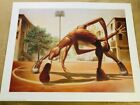 """Kadir Nelson's """"ONE ON ONE"""", LIMITED EDITION, NEW, SOLD OUT, SPORTS, COA"""
