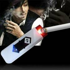 USB Flameless Lighter Electric Battery Cigarettes Rechargeable Windproof Gift L