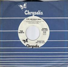 THE BABYS  Turn And Walk Away  rare promo 45 from 1980  JOHN WAITE