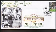 ERIC GROTHE PARRAMATTA EELS RUGBYs GREATEST 100 COVER