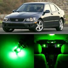 12 x Ultra Green Interior LED Lights Package For 2001- 2005 Lexus IS300
