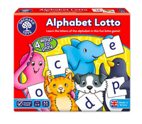 Orchard Toys Alphabet Lotto ABC Learning Educational Game Age 3+ Literacy Skills