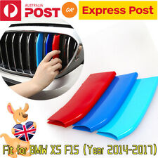 Fits BMW X5 F15 Year 2014-2017 M-Tech Kidney Grill Grille 3 colour Cover Clips
