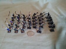 """Vintage 31mm tall """"Tradition"""" Lead Miniature Soldiers lot of 33 ¤"""