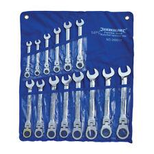 ORIGINALE Silverline Testina Flessibile Set chiavi a cricchetto 14 PEZZI 8 -