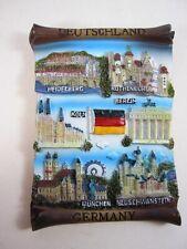 Allemagne Souvenir Rouleau 12 cm, Berlin, Cologne, Munich, Heidelberg,