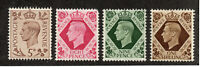 Great Britain - SG# 469, 472, 473 & 475 MH/MLH    -     Lot 1020410