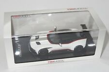 1/43  Aston Martin Vulcan  2015  White with Red Stripe