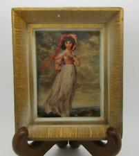 "MINIATURE MASTERS INC. NY FRAMED REPRODUCTION SIR THOMAS LAWRENCE ""PINKIE"""