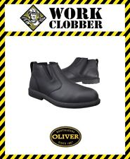 Oliver Black Zip Side Executive Safety Boot 38265 NEW WITH TAGS!