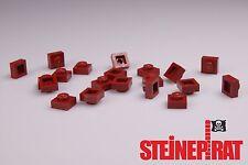 LEGO® 20x 3024 *NEU* Platte 1x1 / Platten / Steine / Basic / dunkelrot 4539114