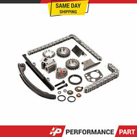 Timing Chain Kit w/o Idler Sprocket for 91-98 Nissan Altima 240SX DOHC KA24DE