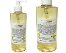 Organic Castile Soap Lemon/ Lime, 100% Natural &  SLS Free, 500ml
