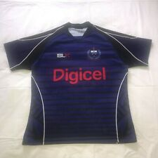 Signed Samoa Rugby Union Training Jersey - Historic Side That Defeated Wales