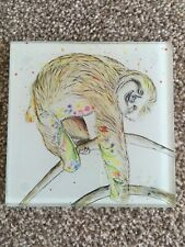 New Glass Coaster Sloth
