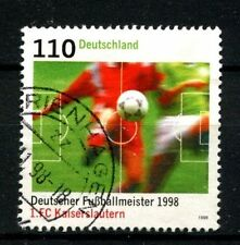 Germany 1998 SG#2866 FC Kaiserslautern Football Used #A25241
