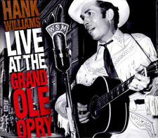 Hank Williams Live at the Grand Ole Opry Cassette