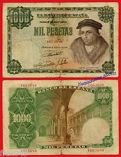 ESPAÑA SPAIN 1000 Pesetas 1946 LUIS VIVES Pick 133 RC+ / G