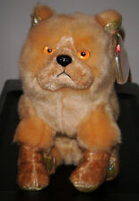 Ty Beanie Baby ~ DOG (Chinese ZODIAC) the Chow Dog ~ MINT with MINT TAGS