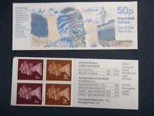 Fb61 Archaeology 50P Machin Stamp Booklet Austen Layard