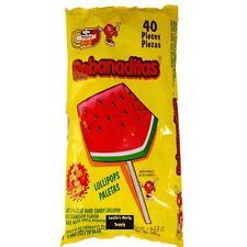 10pc Vero Rebanaditas Revanada Watermelon Lollipop Mexican Candy DULCE con chile
