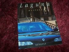 Catalogue /  Brochure RENAULT Laguna Baccara 1994 //
