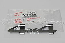 Toyota Tundra 2007-2013 4X4 Tailgate Emblem Genuine OEM   75473-0C030