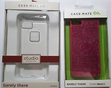 Case Mate Glitter Glam Pink Cover for Apple iPhone 5 and Clear iphone 5c