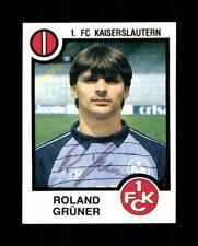 Roland VERDE 1.fc Kaiserslautern 1984 PANINI sammelbild ORIGINALE SIGN + a 74640