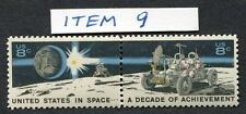 USA IN SPACE 2 setenant US stamps SCOTT 1435b Excellent Condition MNH/OG (1-C9)