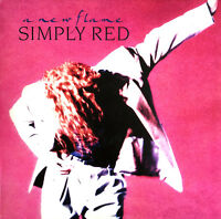 Simply Red ‎LP A New Flame (Elektra ‎– WX 242, 244689-1) - Europe (EX/EX+)