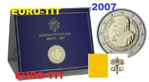 2 €    VATICAN    COMMEMORATIVE   BENOIT   XVI       /    2007