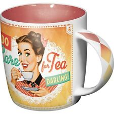 Nostalgic Art Do I look Like I care 50er retro Rockabilly Tasse in stabiler Kart