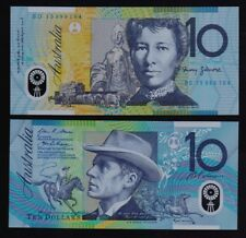 Australia – P#58h 10 Dollars 2015 Polymer Uncirculated Banknote.