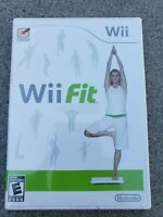 Genuine Wii Fit Game Nintendo Wii