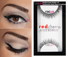 Red Cherry 100 Human Hair Eyelashes Primrose 747s
