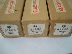 3 tubes valves STC 4120A Western Electric 120A NOS