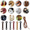 Round Waxed Shoelaces Oxford Flat Dress Canvas Sneaker Shoe Laces Unisex Strings