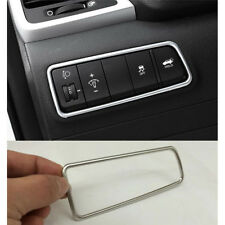 Light Switch Button Cover Trim Frame Garnish For Hyundai Tucson 2015-2017