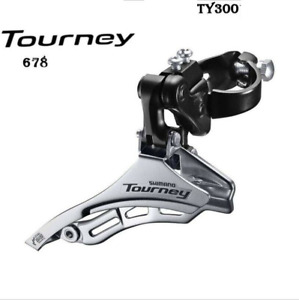 FD-TY300 For Shimano 6/7 Speed Bicycle Front Derailleur Clamp-On 31.8MM Top-Pull