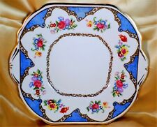 More details for very rare hammersley cake plate dresden sprays china t. goode & co vintage 1930s