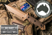 Hardcore Hardware knife Tactical Survival hunting FULL TANG AU MFK-04 GEN II D