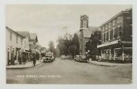 Postcard 1940's Main Street New Hope Pennsylvania