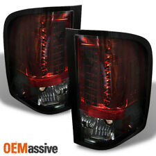 Fits 07-13 Chevy Silverado Pickup Truck 1500/2500/3500 LED Red Smoke Tail Lights