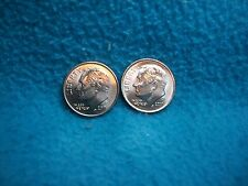 2011 P & D ROOSEVELT DIME UNCIRCULATED 2 COINS