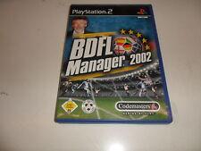 PlayStation 2  PS 2  BDFL Manager 2002